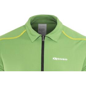 Gonso Henrik Fiets Poloshirt Heren, fluorite green
